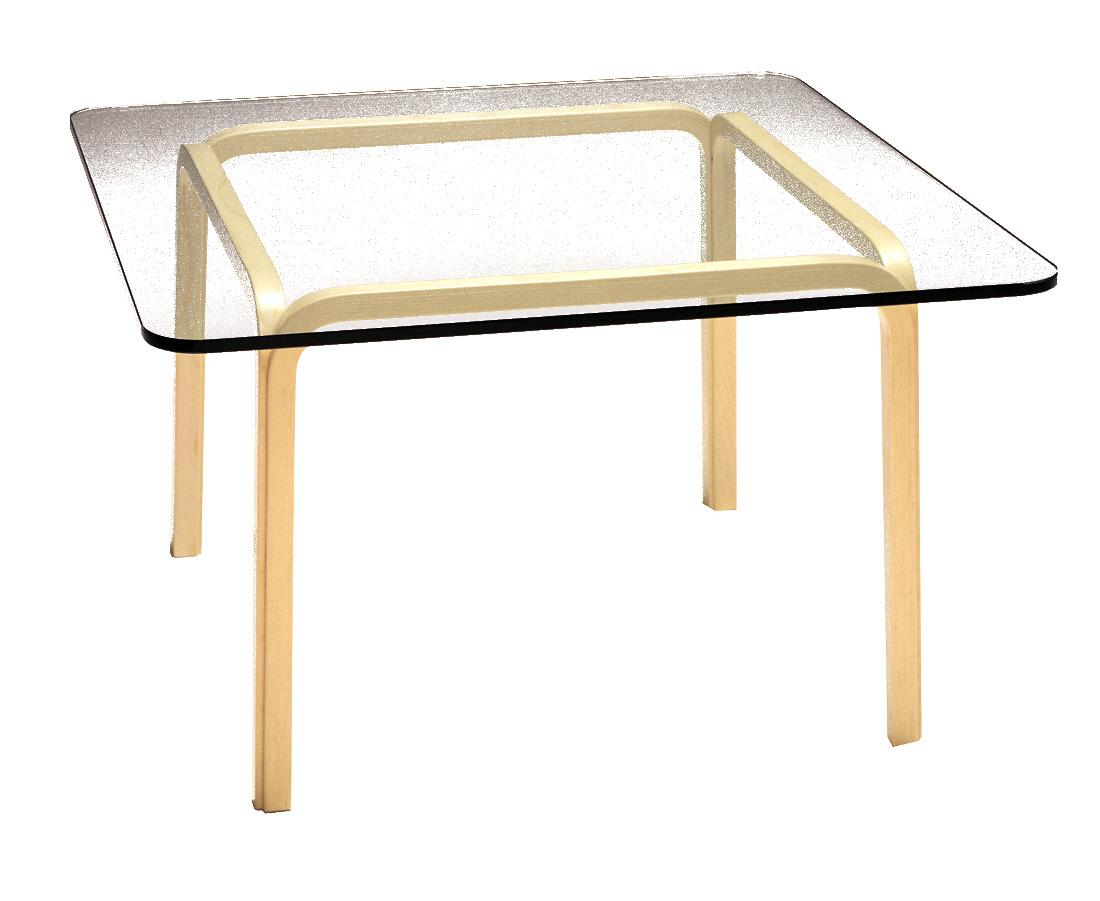 Artek アルテック ガラステーブル Y805A
