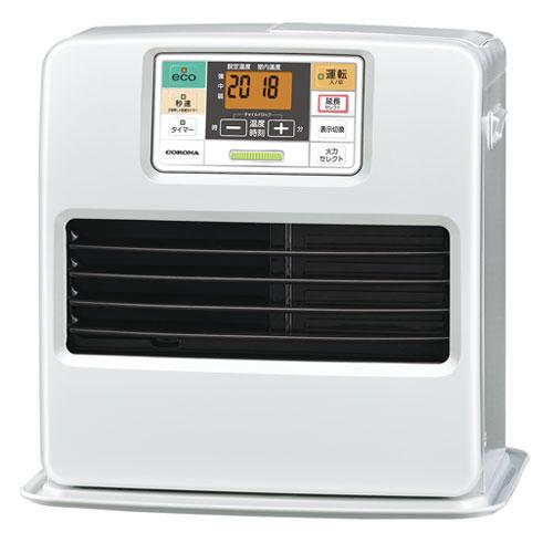 コロナ 石油ファンヒーター FH-ST3618BY (W) パールホワイト 9畳