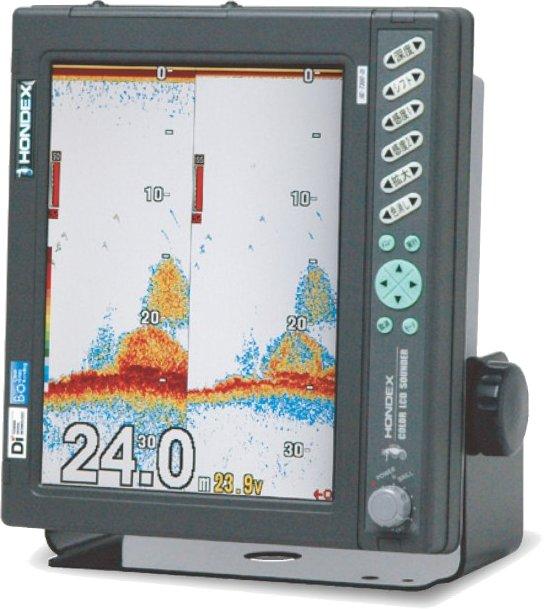 ホンデックス (HONDEX) デジタル魚群探知機 HE-7300-Di-Bo 出力5kW 10.4型高輝度液晶