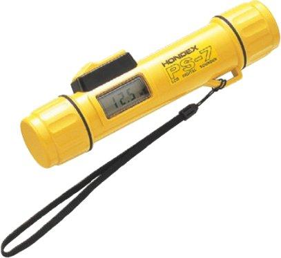 ホンデックス (HONDEX) ポータブル測深機 PS-7 最大測定距離80m 周波数200kHz 指向角24度