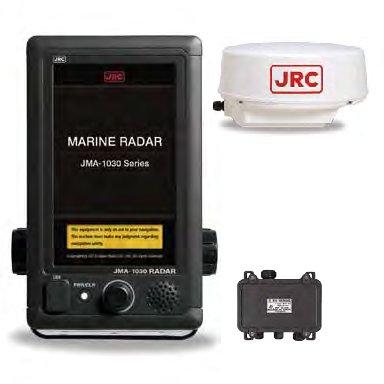 日本無線(JRC) 船舶用レーダー JMA-1032 レドーム型 4kW 1.5ft