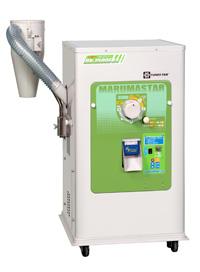 マルマス機械 一回搗精米機 マルマスター DX-1500EF ◆三相200V 1.5kW IE3モーター付 ◆籾・玄米兼用タイプ