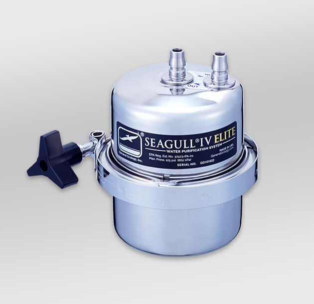 シーガルフォー アンダーシンクタイプ浄水器+水栓セット X-1BE-GA01 (本体X-1BE-H+水栓GA01)