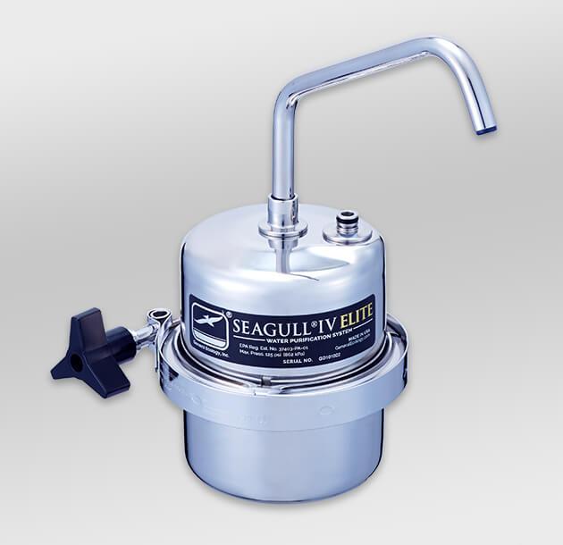 シーガルフォー カウンタートップタイプ浄水器 X-1DE (本体+切替コックセット)