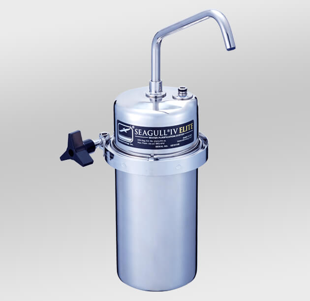 シーガルフォー カウンタートップタイプ浄水器 X-2DE (本体+切替コックセット)