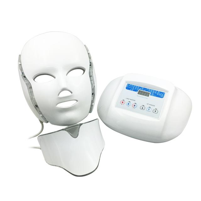 ホームケア美容機器 LEDマスク美顔器 首ユニット付き 弘洋株式会社【代引き不可】