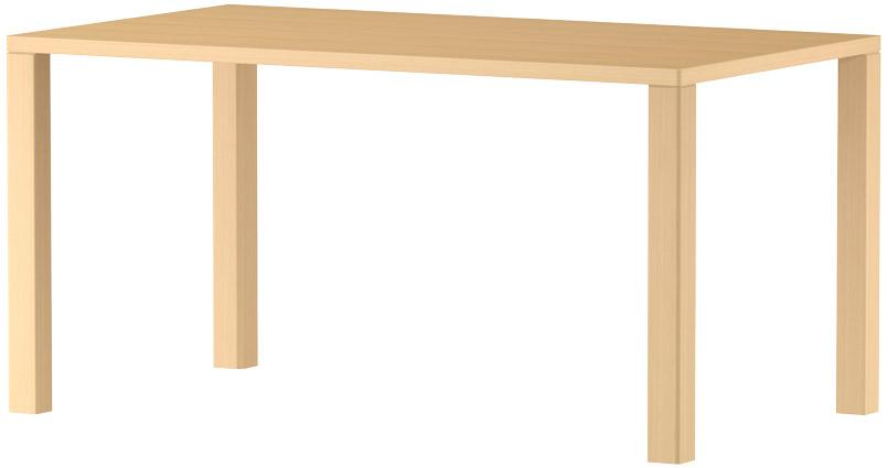 MARUNI マルニ木工 nシリーズ ダイニングテーブル W1400 No.1360-93-0140【送料無料】【代引不可】