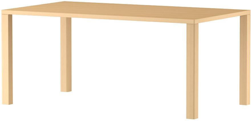 MARUNI マルニ木工 nシリーズ ダイニングテーブル W1600 No.1360-93-0160【送料無料】【代引不可】