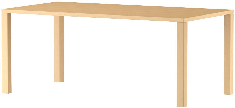 MARUNI マルニ木工 nシリーズ ダイニングテーブル W1700 No.1360-93-0170【送料無料】【代引不可】
