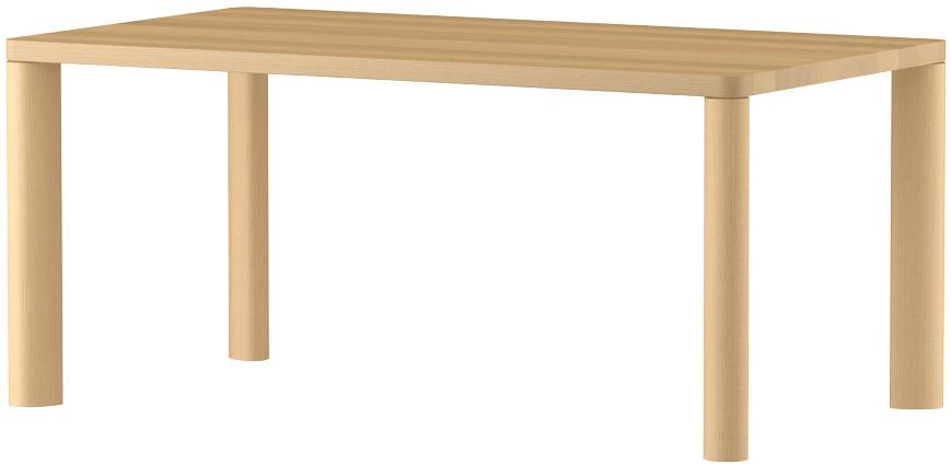 MARUNIマルニ n(エヌ)ダイニングテーブル(ムク天板)No.1566-93-0160【張地変更ご相談下さい】
