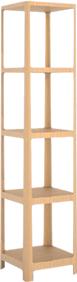メーベルトーコー ソラへ タワー154 オーク材ブラックカラー タワーシェルフ ミディアム ※時間指定不可 MOBELTOKO SORAHE Medium TOWER154