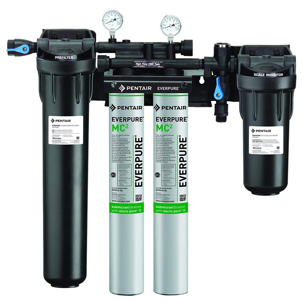 エバーピュア 業務用浄水器 ハイフローシステム ハイフローCSRツイン