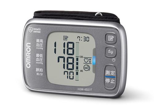 【あす楽】オムロン 手首式血圧計 HEM-6323T OMRON 家庭用血圧計