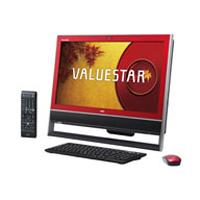 NEC 桌面 PC VALUESTAR N PC-VN370NSR (VN370/NSR) 蔓越莓红