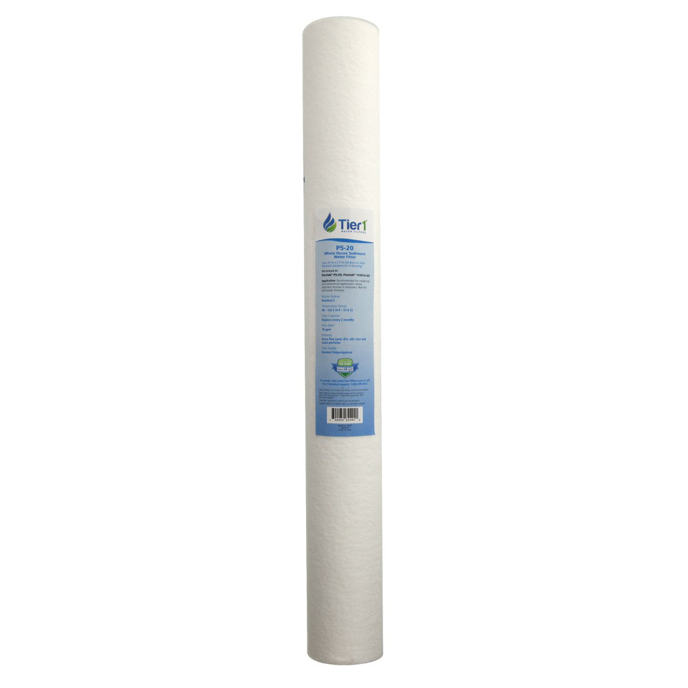 【20本セット】pentair 155016-43 P5-20 スパンポリプロピレン(20インチカートリッジ)