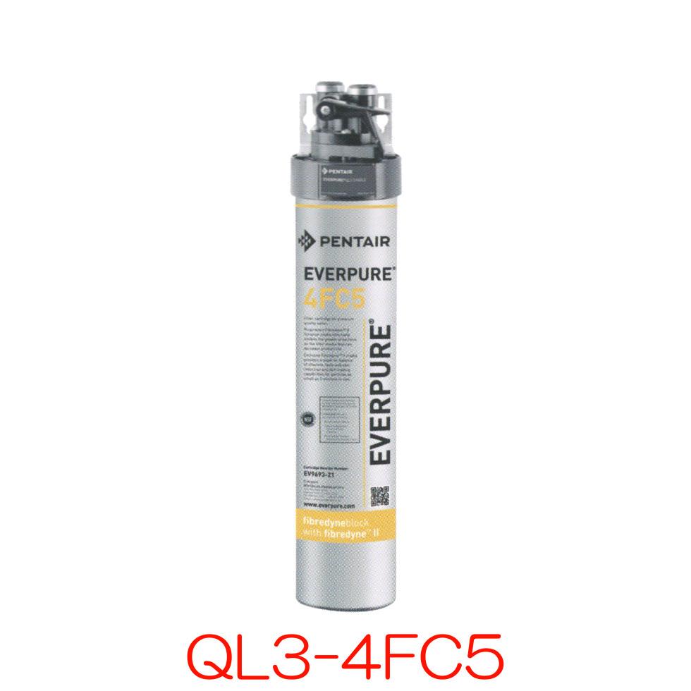 エバーピュア 業務用浄水器 QL3-4FC5