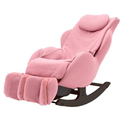 【販売終了】【開梱設置付き】 ファミリー マッサージチェア キャラコ・ロッキング FDC-600(P) ピンク