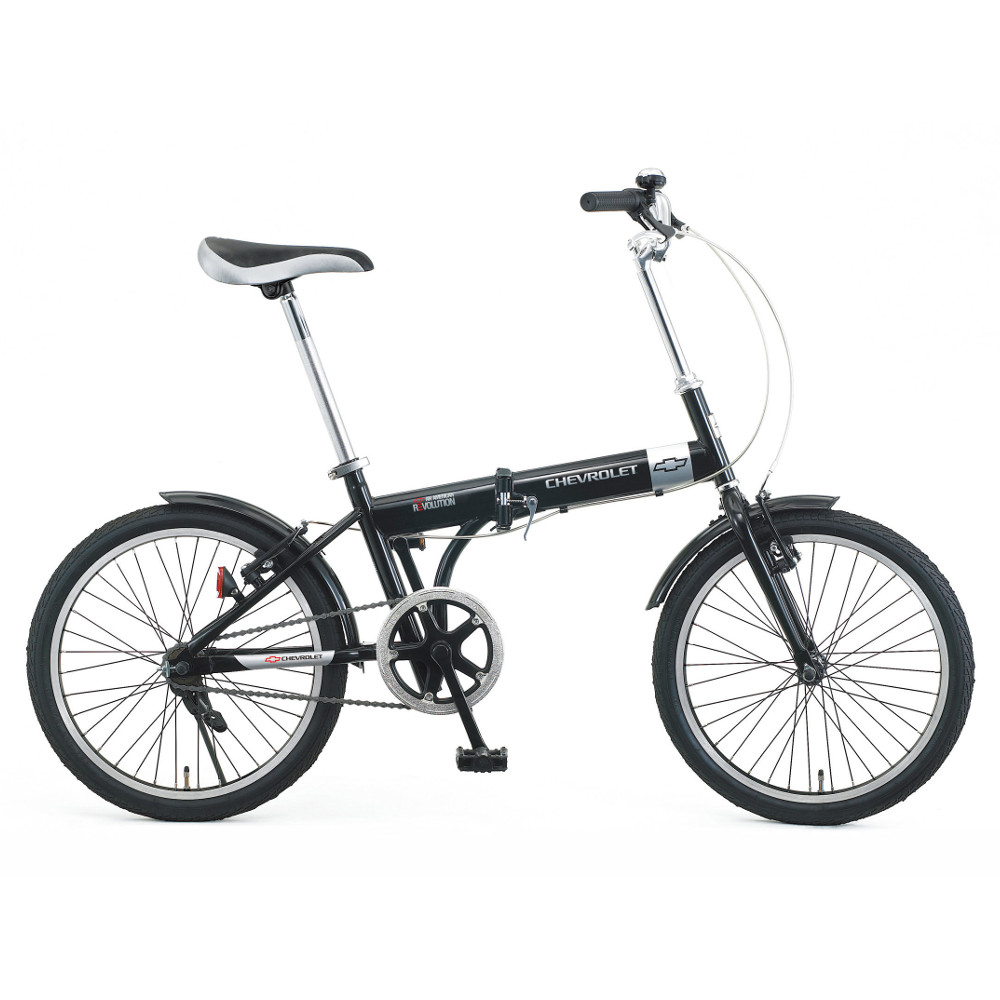 『メーカー在庫限り』ミムゴ No.73123 ブラック 20インチ折り畳み自転車 CHEVROLET(シボレー) シボレーFDB20『代引き・時間指定不可』