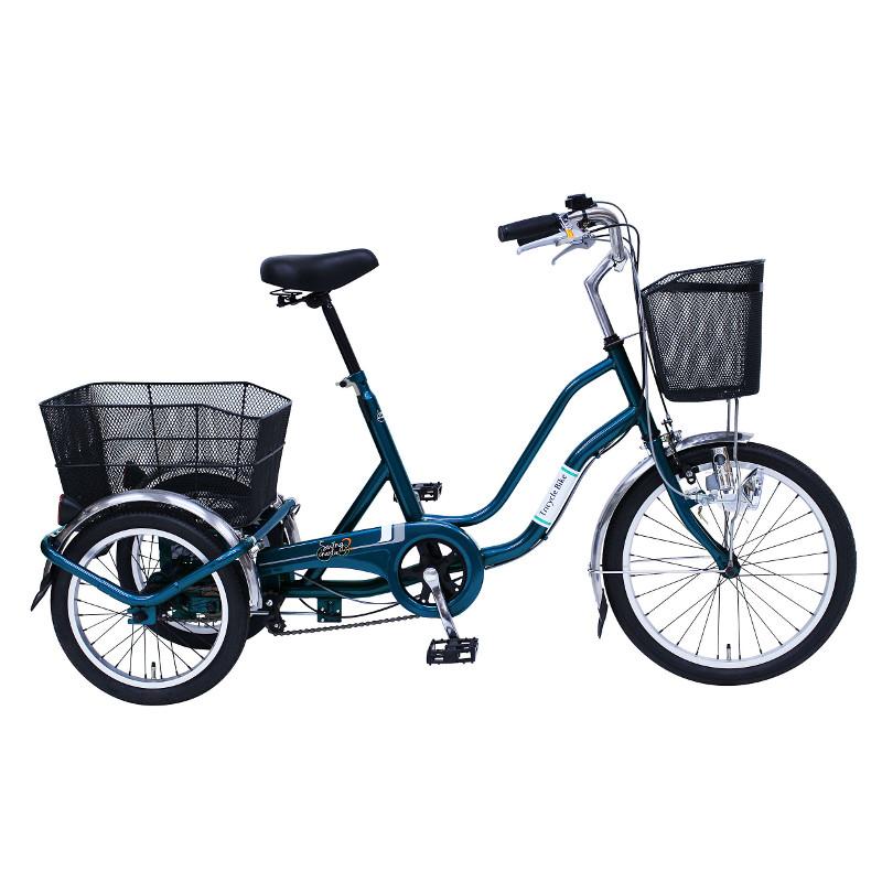 ミムゴ 三輪自転車 SWING CHARLIE2(スイングチャーリー2) MG-TRW20E ティールグリーン【代引き・時間指定不可】