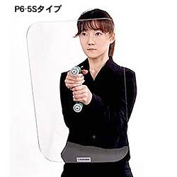 ナンワ 一般用防護盾 助っと君 小盾 厚さ5mm P6-5S 形状:凸