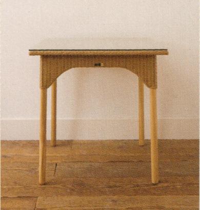 Lloyd Loom ロイドルーム / Tables テーブル(ガラス付) ガラステーブル / No.9075