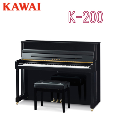 Kawai Upright Piano >> Kawai Kawai Musical Instruments Manufacturing Co Ltd Kawai Upright Piano New K Series K 200