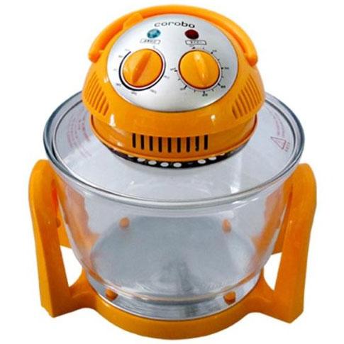 送料無料 コロボ 日本正規代理店品 corobo オレンジCKY-19QO ノンオイルフライヤー ConVection カーボンコンベクションオーブン Coo-Fun お気に入 Carbon Oven