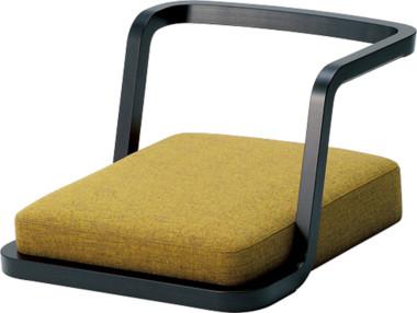 天童木工 T-3187WB-BX 座椅子 張地グレードD ホワイトビーチ (BX色)