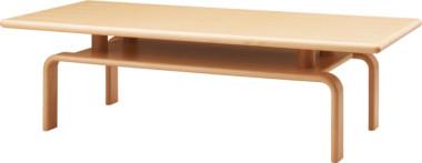 天童木工 T-6825WB-NT テーブル ホワイトビーチ (ナチュラル) 【代金引換対象外】