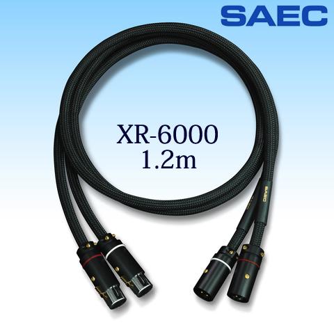 SAEC サエクコマース / インターコネクトバランスケーブル バランスラインケーブル / XR-6000 1.2m