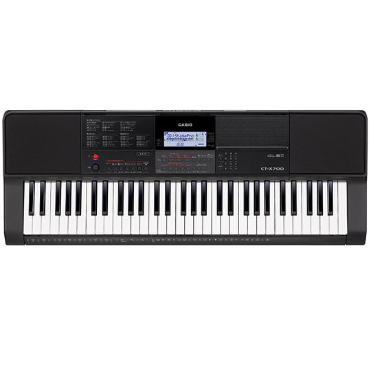 CASIO カシオ CT-X700 ベーシックキーボード 61鍵盤 USB端子搭載