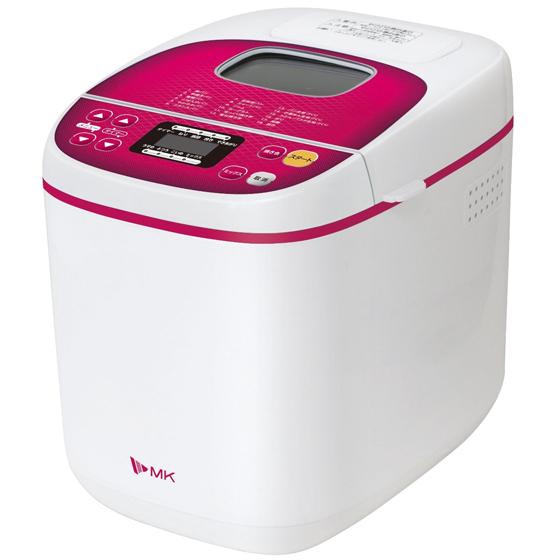 ホームベーカリー ふっくらパン屋さん HBS-100W ホワイト 1斤 エムケー精工 送料無料
