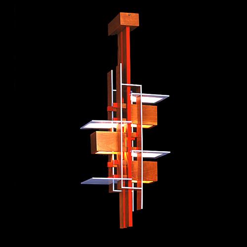 Yamagiwa Taliesin Pendant P2679 Light Frank Lloyd Wright Needed Electrical Work Orders