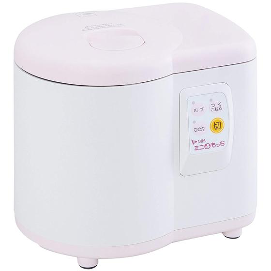 エムケー精工 餅つき機 RM-05MN ミニもっち 送料無料 3~5合 ホワイト×ピンク