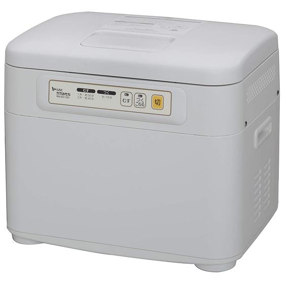 エムケー精工 餅つき機 かがみもち RM-201SN 1升~2升 送料無料 蒸し/つき/こねタイプ