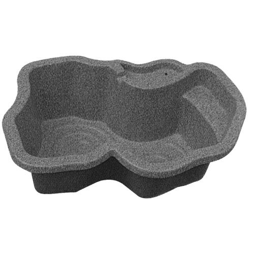 タカラ工業 S90 庭園埋設型 みかげ調プラ池 【左右指定不可】 ◆代引き・時間指定不可