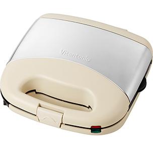 ビタントニオ ワッフル&ホットサンドベーカー アイボリー プレミアムセット VWH-32-I 送料無料 Vitantonio