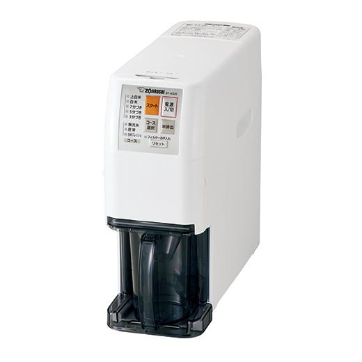 【代引手数料無料】象印 家庭用無洗米精米機 つきたて風味 BT-AG05-WA ホワイト
