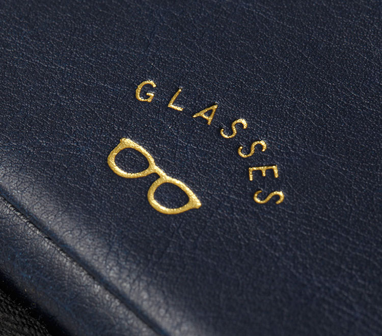メガネケース グラッシーズ MGC-18GL GlassesCase 「GLASSES」 眼鏡入れ PUレザー ジェントルマン 紳士 スウェード 起毛素材 おしゃれ メンズ tempoo