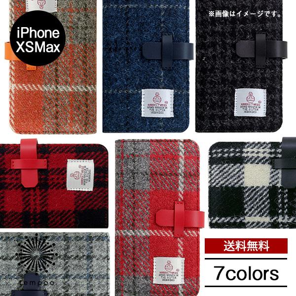 送料無料 メール便 iPhone XS Max iPhoneXS Max iPhoneXSMax roa SLG Design スマホケース ハリスツイード ケース Harris Tweed Diary 手帳型 手織り アイフォン ケース 上質 カバー case メンズ 本革 スコットランド おしゃれ ブランド レディース tempoo