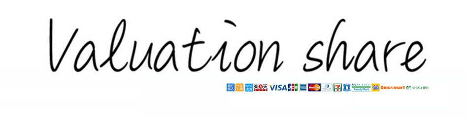 """Valuation share:大人の男のためのファッションブランドを取扱う""""バリュエーション シェア"""""""