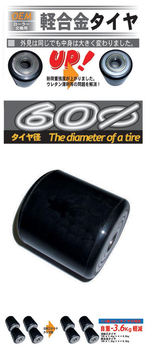 交換用タイヤ60π