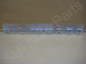 シボレー シルバラード ドア&テールゲート エンブレム GM 2007-2011(C48-3Z)