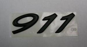 ポルシェ91 1エンブレム、エンジン リッド 964 993 996 997 ターボ