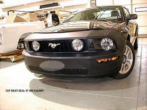 ノーズブラ フロントエンドマスク カバー フォード マスタング GT 05 - 09