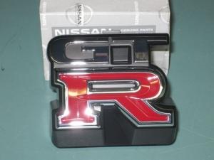 スカイライン GTR グリル エンブレム R33 JDM 日産