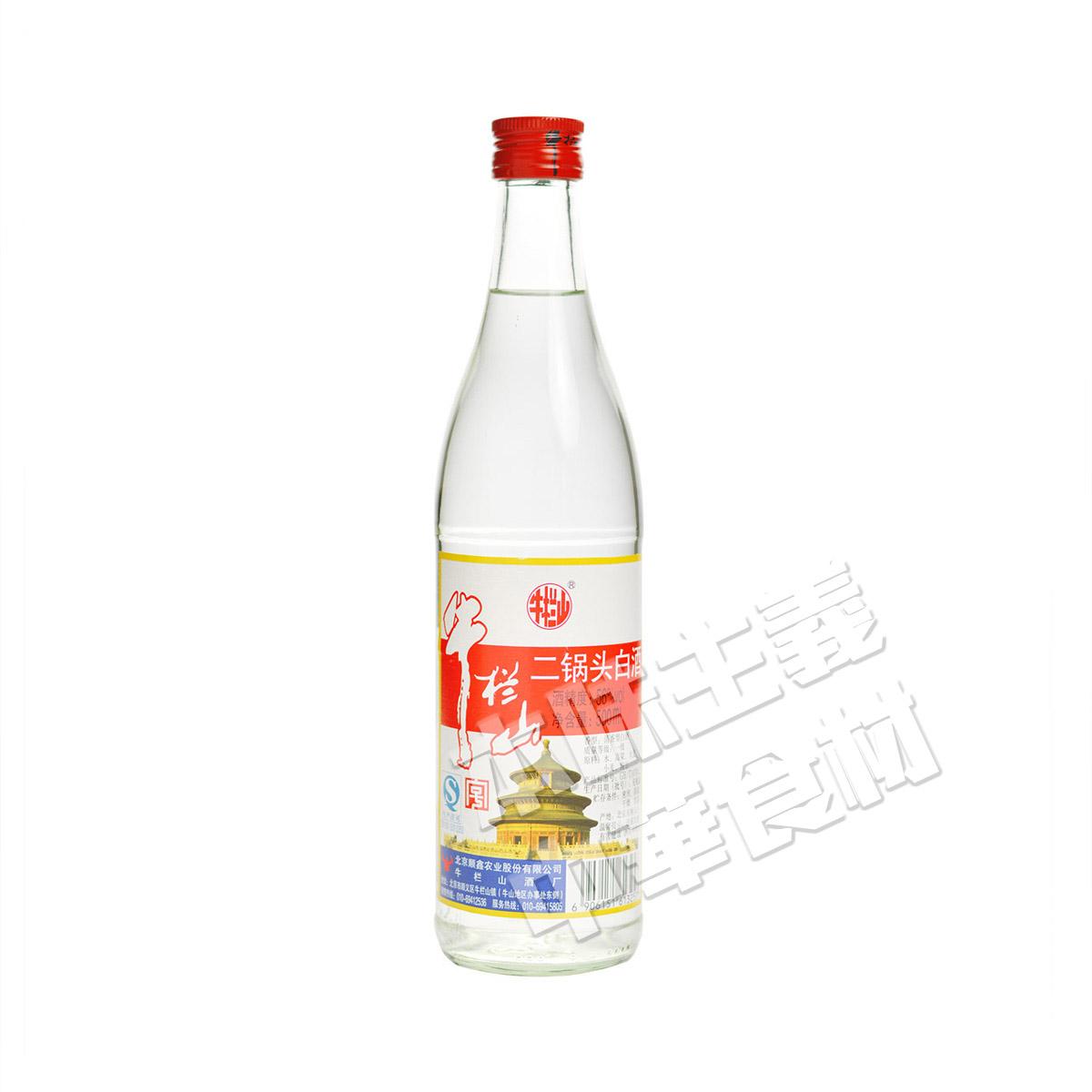 牛欄山二鍋頭白酒 白瓶56度 中国名物・中華料理店超人気商品・本場味大好評