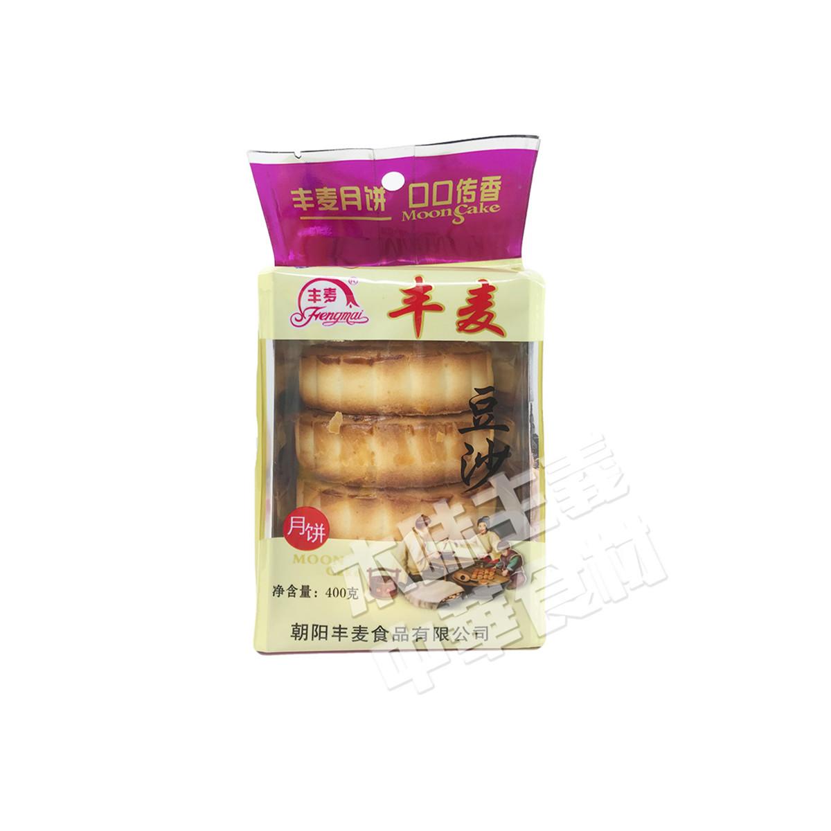 豐麦豆沙月餅(あずき月餅)400g(100g×4個)