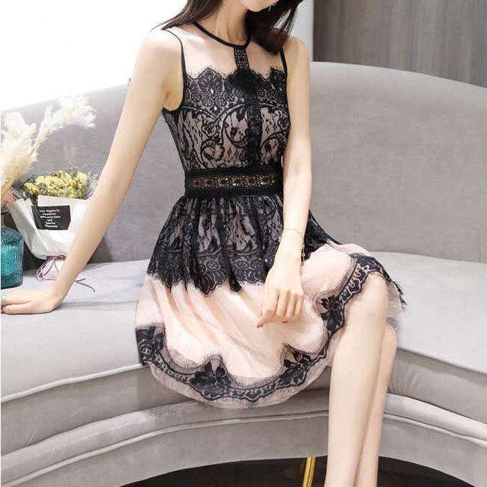 パーティードレス 韓国 ドレス ミニ 個性的 ワンピース 爆買いセール 総レース ハイネック 結婚式 二次会 20代 当店限定販売 白ホワイト黒ブラック L 長袖 30代 M XL 3L S 袖あり