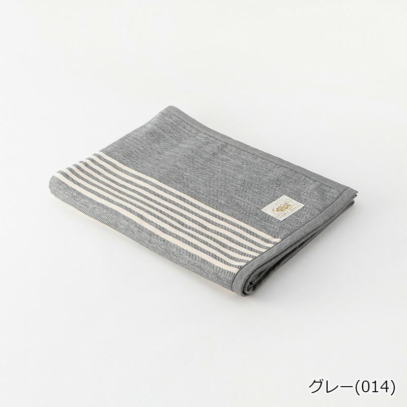コットンリネンストライプケット ハーフ 日本製 | テネリータ TENERITA